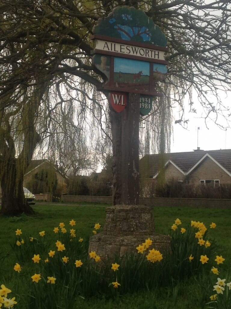 Ailsworth Parish Council Sign