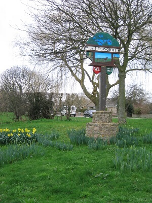 Ailsworth Parish Council Village Sign