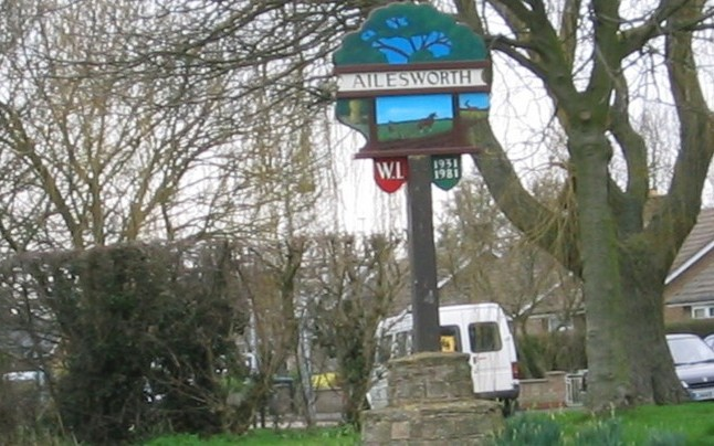 Ailsworth Village Sign for Ailsworth Parish Council