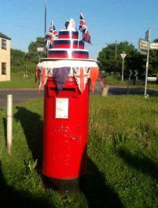 Ailsworth parish post box
